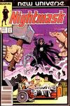 Cover Thumbnail for Nightmask (1986 series) #1 [Newsstand]