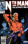 Cover Thumbnail for Nth Man the Ultimate Ninja (1989 series) #2 [Newsstand]