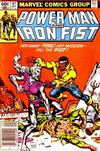 Cover Thumbnail for Power Man and Iron Fist (1981 series) #97 [newsstand]