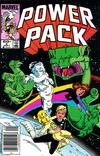 Cover for Power Pack (Marvel, 1984 series) #2 [Newsstand Edition]