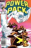 Cover for Power Pack (Marvel, 1984 series) #3 [Newsstand Edition]