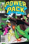 Cover for Power Pack (Marvel, 1984 series) #4 [Newsstand]