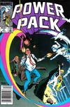 Cover for Power Pack (Marvel, 1984 series) #5 [Newsstand Edition]