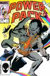 Cover for Power Pack (Marvel, 1984 series) #7 [Direct Edition]