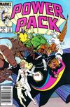 Cover for Power Pack (Marvel, 1984 series) #8 [Newsstand]