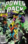 Cover for Power Pack (Marvel, 1984 series) #12 [Newsstand]