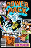 Cover for Power Pack (Marvel, 1984 series) #13 [Newsstand]