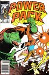 Cover for Power Pack (Marvel, 1984 series) #17 [Newsstand]