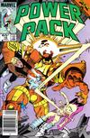 Cover for Power Pack (Marvel, 1984 series) #18 [Newsstand Edition]