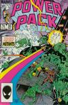 Cover for Power Pack (Marvel, 1984 series) #20 [Direct Edition]