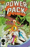 Cover for Power Pack (Marvel, 1984 series) #25 [Direct Edition]