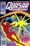 Cover for Quasar (Marvel, 1989 series) #3 [Newsstand]
