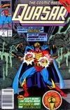 Cover for Quasar (Marvel, 1989 series) #8 [Newsstand]