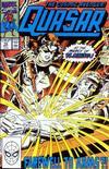 Cover for Quasar (Marvel, 1989 series) #10