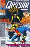 Cover for Quasar (Marvel, 1989 series) #12 [Newsstand]