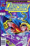 Cover for Quasar (Marvel, 1989 series) #14 [Newsstand]