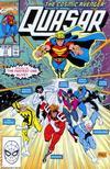 Cover for Quasar (Marvel, 1989 series) #17
