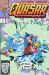 Cover for Quasar (Marvel, 1989 series) #18