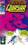 Cover for Quasar (Marvel, 1989 series) #25
