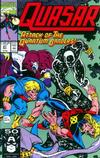 Cover for Quasar (Marvel, 1989 series) #27