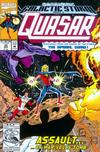 Cover for Quasar (Marvel, 1989 series) #32 [Direct]