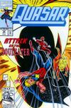 Cover for Quasar (Marvel, 1989 series) #36