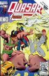 Cover for Quasar (Marvel, 1989 series) #41