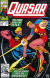 Cover for Quasar (Marvel, 1989 series) #43