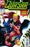 Cover for Quasar (Marvel, 1989 series) #48