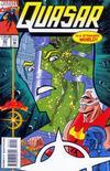 Cover for Quasar (Marvel, 1989 series) #55