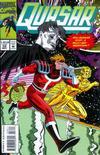 Cover for Quasar (Marvel, 1989 series) #58