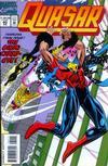 Cover for Quasar (Marvel, 1989 series) #60