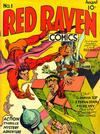 Cover for Red Raven Comics (Marvel, 1940 series) #1
