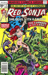 Cover for Red Sonja (Marvel, 1977 series) #4 [35 cent cover price variant]