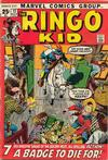 Cover for The Ringo Kid (Marvel, 1970 series) #12