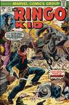 Cover for The Ringo Kid (Marvel, 1970 series) #25