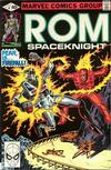 Cover for ROM (Marvel, 1979 series) #4 [Direct Edition]