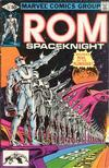 Cover for ROM (Marvel, 1979 series) #13 [Direct Edition]