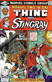 Cover Thumbnail for Marvel Two-in-One (Marvel, 1974 series) #64 [Direct]