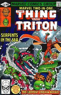Cover Thumbnail for Marvel Two-in-One (Marvel, 1974 series) #65 [Direct]