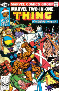 Cover for Marvel Two-in-One (Marvel, 1974 series) #74 [Direct]