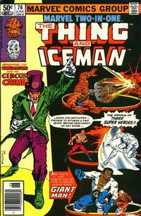 Cover Thumbnail for Marvel Two-in-One (Marvel, 1974 series) #76 [Newsstand]
