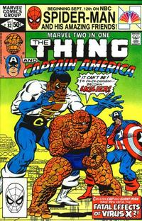 Cover Thumbnail for Marvel Two-in-One (Marvel, 1974 series) #82 [Direct]