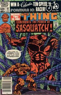 Cover Thumbnail for Marvel Two-in-One (Marvel, 1974 series) #83 [Newsstand]