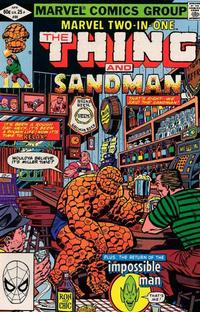 Cover Thumbnail for Marvel Two-in-One (Marvel, 1974 series) #86 [Direct]