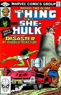 Cover Thumbnail for Marvel Two-in-One (Marvel, 1974 series) #88 [Direct]