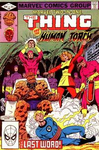 Cover Thumbnail for Marvel Two-in-One (Marvel, 1974 series) #89 [Direct]