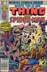 Cover Thumbnail for Marvel Two-in-One (Marvel, 1974 series) #90 [Newsstand]