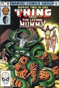 Cover Thumbnail for Marvel Two-in-One (Marvel, 1974 series) #95 [Direct]