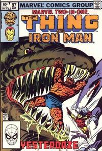 Cover Thumbnail for Marvel Two-in-One (Marvel, 1974 series) #97 [Direct]